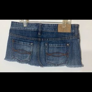 Abercrombie and Fitch denim skirt size 00